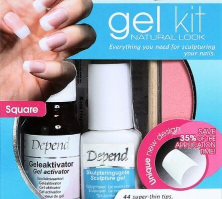 gelenagelkit från Depend GeleKit Natural Look