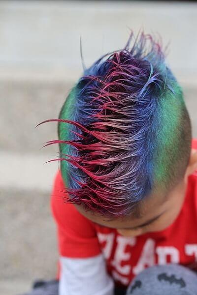 varmlutsborste för många olika hårtyper