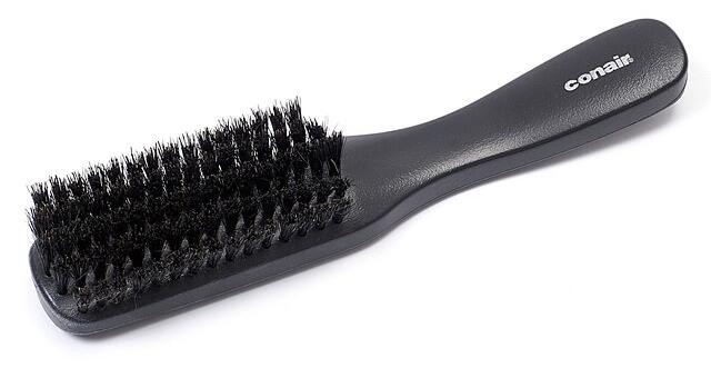 olika typer av hårborstar