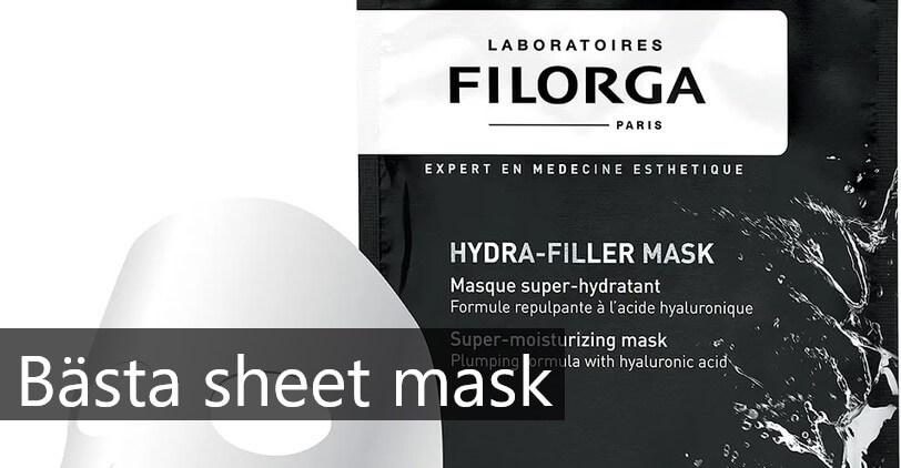 bästa sheet mask